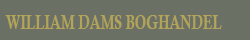William Dams Boghandel Logo